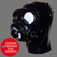 Latex Rubber Gum Studio Gas Mask - Latexmaske Gasmaske - made to measure Typ: k1