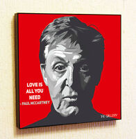 Paul McCartney The Beatles Music Painting Decor Print Wall Art Poster  Canvas