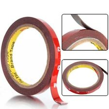 New 3M 12mm x3m Auto Car Acrylic Foam Double Sided Attachment Adhesive Tape uk