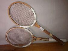 2 Racchette da Tennis in Legno Vintage anni 70 Victory e Maxply Made in Pakistan
