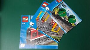New Lego City Train split sets from set 7938 and 60052 - choose any