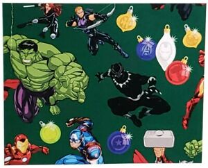 Hallmark Marvel Comics The Avengers Xmas Wrap Christmas Wrapping Paper Holiday