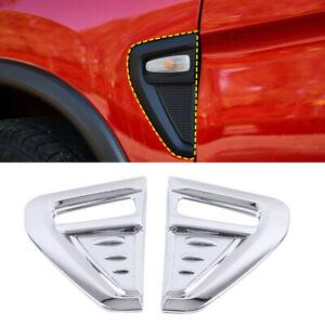 For Mitsubishi RVR/ASX/Outlander Sport 2020 2021 Chrome Side Light Cover Trim