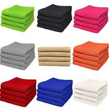 SET OF 1, 3 & 5 LARGE HAND TOWELS LUXURIOUSLY SOFT 50X90CM 100% COTTON BATH GIFT