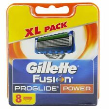 8 Gillette Fusion ProGlide Power Rasierklingen 8 Stück Klingen Set Pack OVP