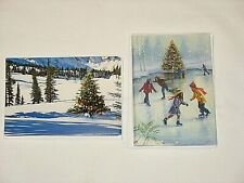 18 Unused American Greetings Christmas Holiday Cards w/ env 6.5 x 4.5 inches