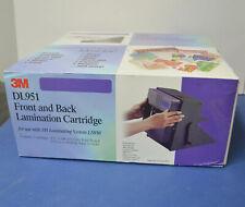 3M Dual Side Laminating Refill Cartridge DL951 for LS950 Laminator Machine