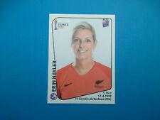 Figurine Panini Women's World Cup France 2019 n.368 Erin Nayler New Zealand