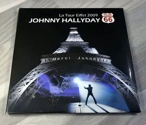 Double CD Live à la Tour Eiffel 2009 de Johnny Hallyday - Pressage Canada