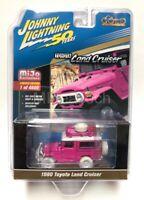 Johnny Lightning 1/64 1980 Toyota Land Cruiser Off Road 4x4 Pink Chase JLCP7208
