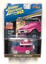 Johnny Lightning 1/64 1980 Toyota Land Cruiser Off Road 4x4 Pink Chase JLCP7208