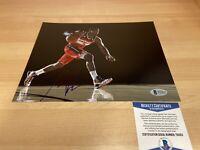 John Wall Washington Wizards Autographed Signed 8X10 Photo Beckett COA
