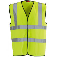 Blackrock Yellow Hi Vis High Viz Visibility Vest Safety Waistcoat Jacket S - 6XL