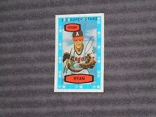 NOLAN RYAN- KELLOGG'S Card- #26- 1975