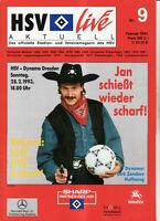 BL 92/93 Hamburger SV - Dynamo Dresden