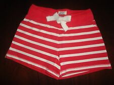 4T NWT Mini Boden Red Striped Shorts Girl or Boy