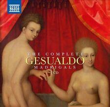 NEW Gesualdo: Complete Madrigals (Audio CD)