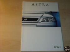 11448) Opel Astra Norwegen Prospekt 1999