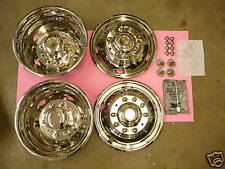 SIMULATORS STAINLESS STEEL FORD F450-550 19.5'' 10 LUG - NF25