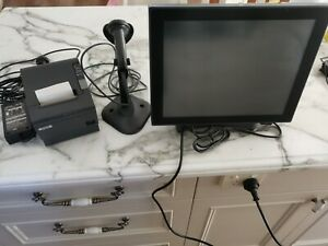 J2 680 POS Computer, Symbol Scanner, Epson POS Printer New/Excellent Conditions
