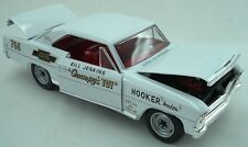 1966 Chevy Nova Bill Grumpy Jenkins WHITE version 1:18 Auto World 5982