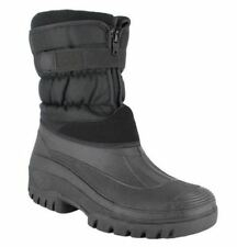 Zip Synthetic Snow, Winter Boots for Men
