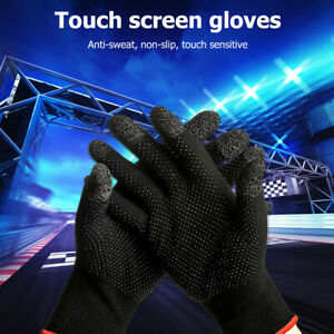 Anti Slip Knit Touch Screen Gloves Breathable Sweatproof Thermal Gloves