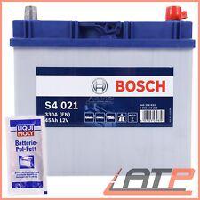 BOSCH S4 021 45Ah 330A 12V AUTO-BATTERIE STARTERBATTERIE+10g POL-FETT 31838121