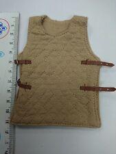 Roman legionary vest for Hot Toys, Sideshow, ACI, etc. beige,1/6 - New!