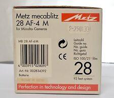 METZ MECABLITZ 28 AF-4 M
