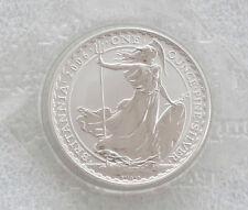2006 Royal Mint Britania BU Dos Libras de plata barra 1oz Moneda casa precintado