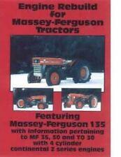 Massey Ferguson 2135 204 202 150 135 35 50 To 20 30 35 F 40 Z Engine Rebuild Dvd