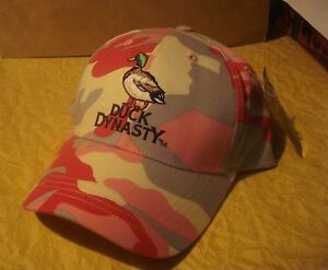 Duck Dynasty New Camo Pink Hunting Cap womens/official Basball style Hat