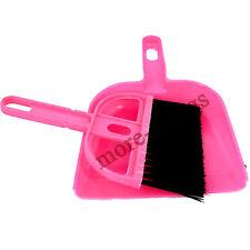 Rouge nettoyage de clavier brosse brosse brosse ordinateur avec balai pelle