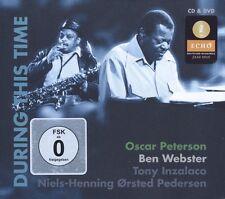 OSCAR & WEBSTER,BEN PETERSON - DURING THIS TIME  CD + DVD NEU