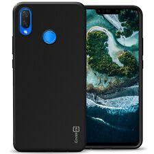 Black Case For Huawei Nova 3i / P Smart Plus Slim Soft TPU Rubber Phone Cover