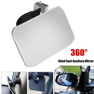 1PCS 360° Wide-angle Adjustable Car Rearview Mirror Blind Spot Auxiliary Mirror