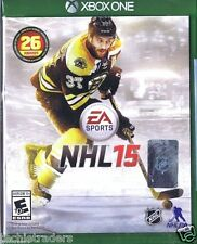 NHL 15  (Microsoft Xbox One, 2014)   Factory Sealed Cellophane