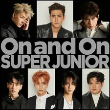 New SUPER JUNIOR On and On First Limited Edition CD Card Japan