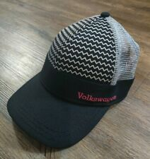 VW Volkswagen Embroidered Baseball Cap DriverGear Auto Car Black Mesh Trucker