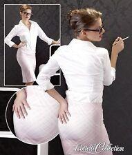 Karierte knielange Damenröcke