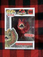 Funko Pop Movies Jurassic Park 25th Anniversary #550 Dilophosaurus Only @Target