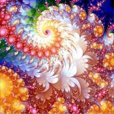 AU Color Flower Full Drill 5D Diamond Painting Embroidery Cross Stitch Kit VE