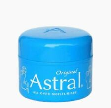 2x Astral Original Face And Body Moisturiser 50ml Moisturising Cream Moisturizer