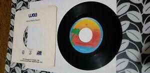 U2, Two Hearts Beat As One, 1983 rock 45, VG+, Island, Canada