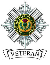 Scots Guards Veteran Car Sticker