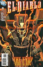 El Diablo #6 - Electric Chair Cover - (9.2+) 2009