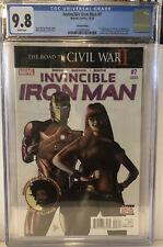 Invincible Iron Man Vol.2 #7 3rd Print (2016) Graded CGC 9.8