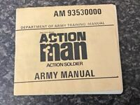 ORIGINAL PALITOY/HASBRO ACTION MAN ARMY MANUAL BOOKLET VERY GOOD FOR AGE
