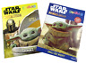 Lot of 2 Star Wars Mandalorian Baby Yoda Coloring Activity Books Colortivity